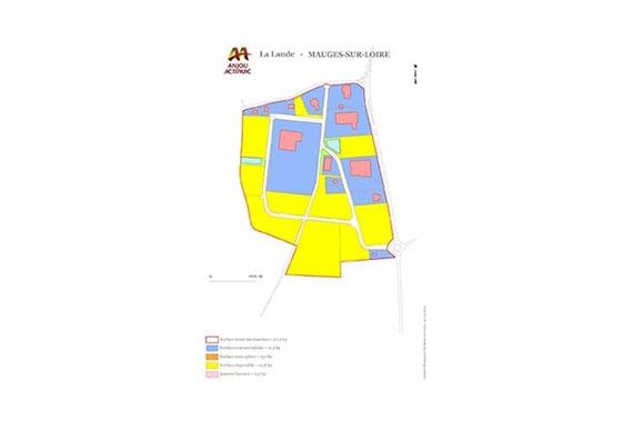 land available in business park in Mauges-sur-Loire