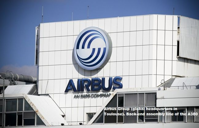 Headquarters Airbus set up in France