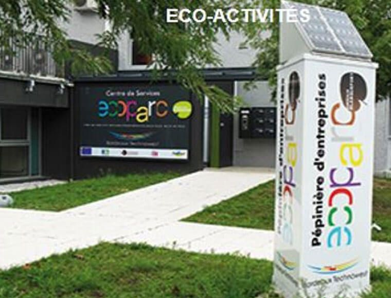 Eco activities offices in Ecopark business Bordeaux