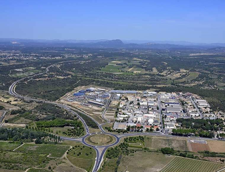 invest in domotia business park land for sale Montpellier