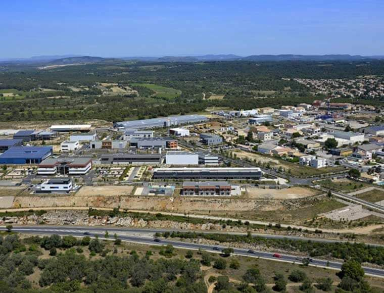 industrial plot to buy in Montpellier
