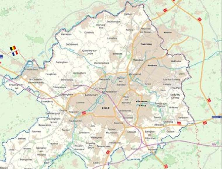 Land available in Lille city